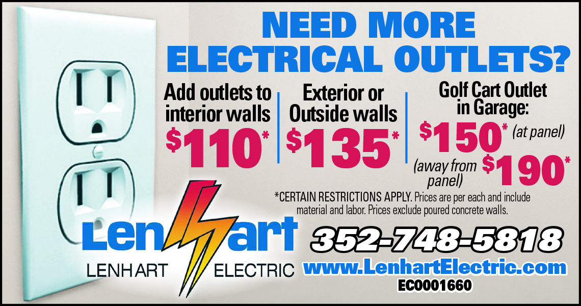 Outlets | Install | Replace | Lenhart | The Villages