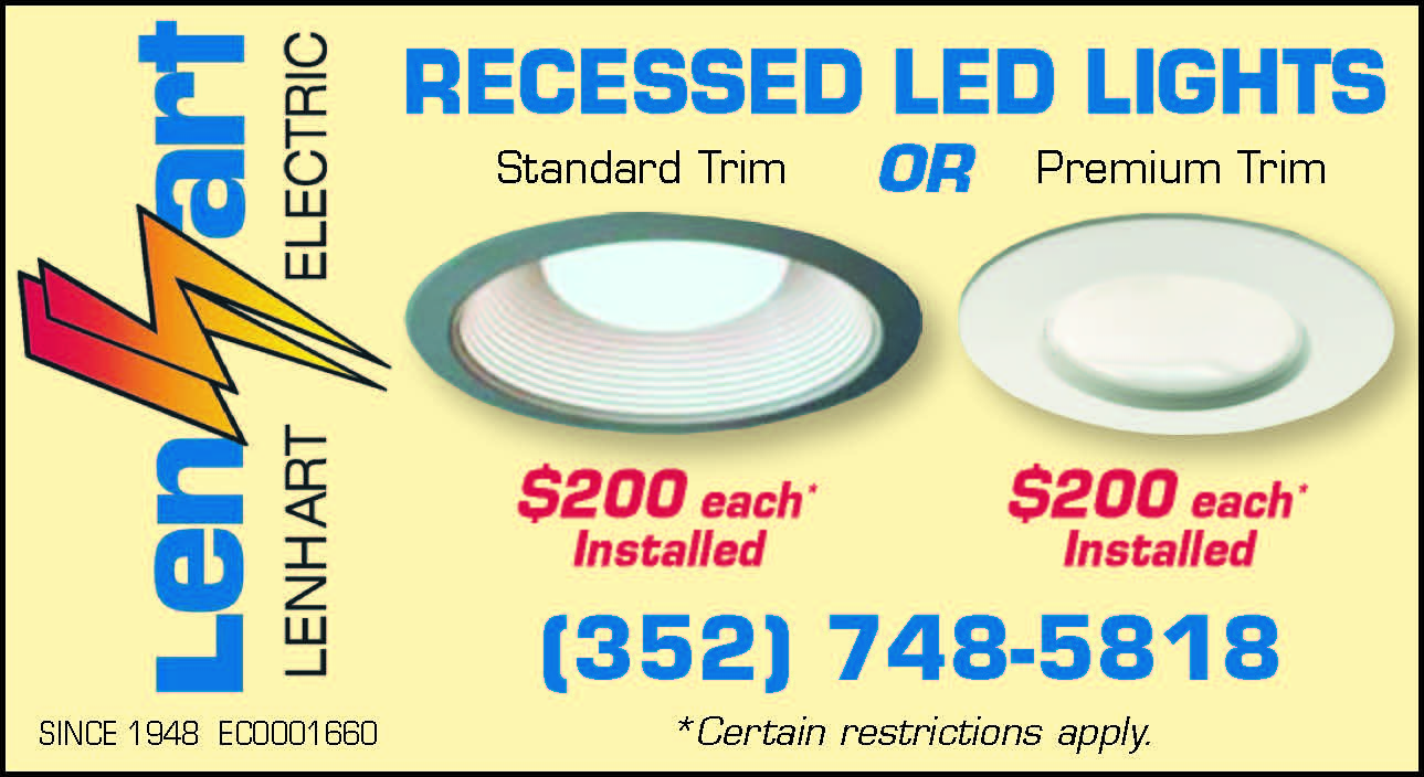 Recessed LED Lights